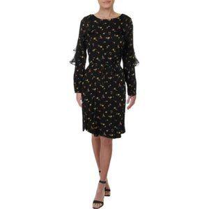 Ralph Lauren Tahiya Floral Print Casual Dress.NWT!